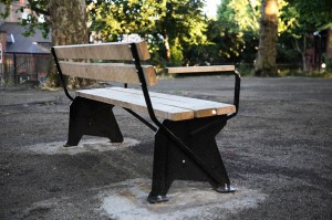 Michael Marriott's bench