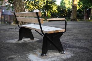 Michael Marriott's bench